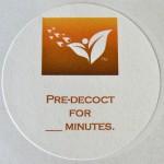 pre-decoction label